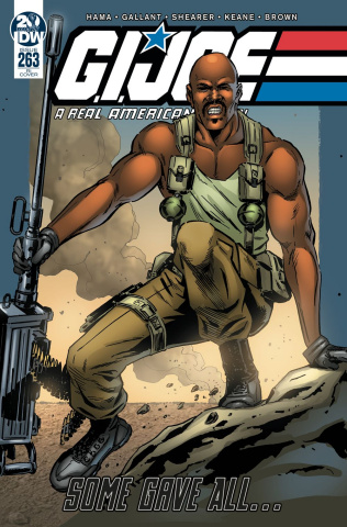 G.I. Joe: A Real American Hero #263 (10 Copy Gallant Cover)