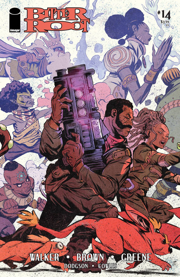 Bitter Root #14 (Greene Cover)