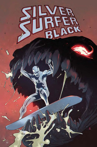 Silver Surfer: Black #3 (Bengal Cover)