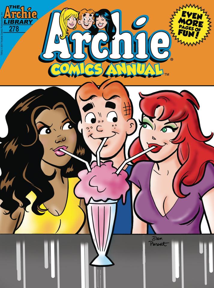 Archie Comics Annual Digest #278