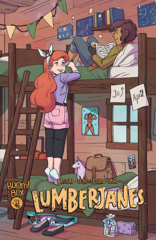 Lumberjanes #46 (Subscription Wong Cover)