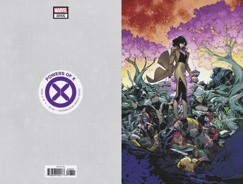 Powers of X #6 (Silva Virgin Cover)