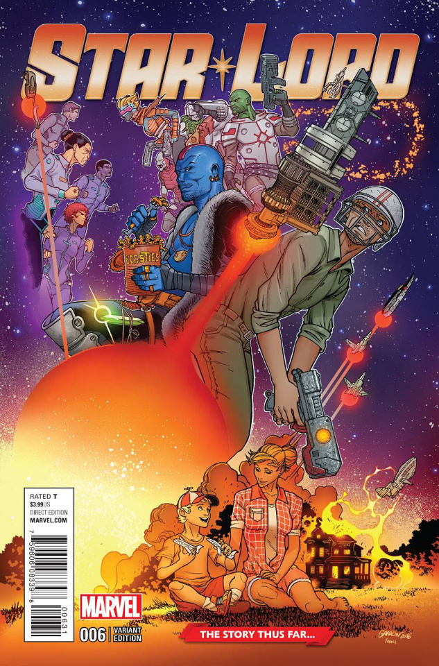 Star-Lord #6 (Garron Story Thus Far Cover)