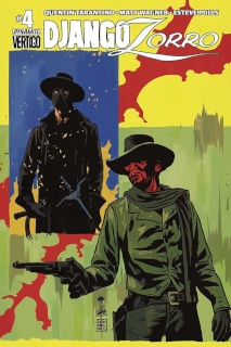 Django / Zorro #4 (Francavilla Cover)