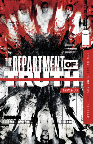 The Department of Truth #3 (Simmonds Cover)