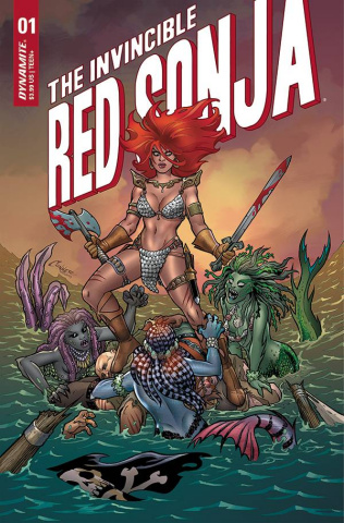 The Invincible Red Sonja #1 (Conner Cover)