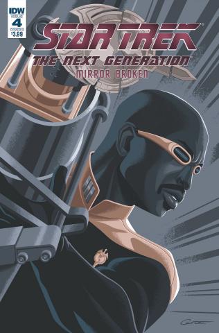 Star Trek: The Next Generation - Mirror Broken #4 (Caltsoudas Cover)