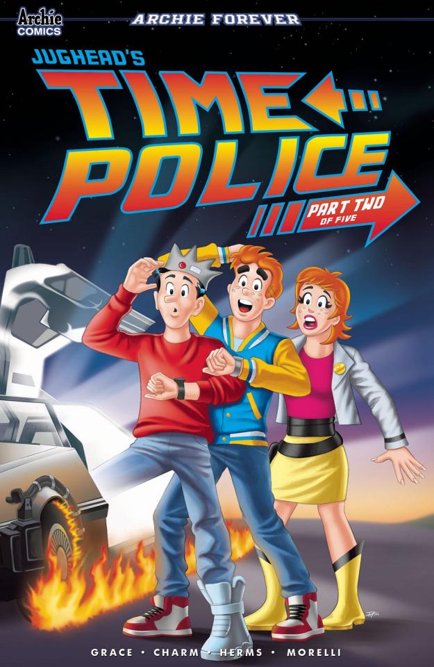Jughead's Time Police #2 (Tito Pena Cover)
