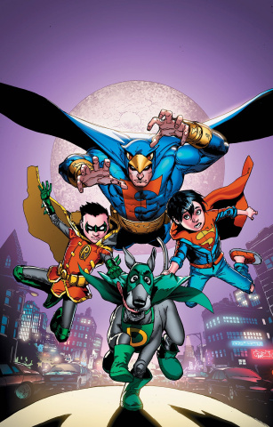 Super Sons / Dynomutt Special #1 (Variant Cover)