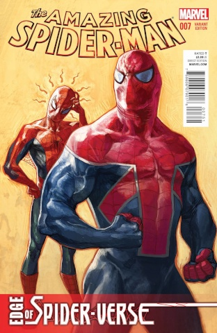 The Amazing Spider-Man #7 (Choo Cover)