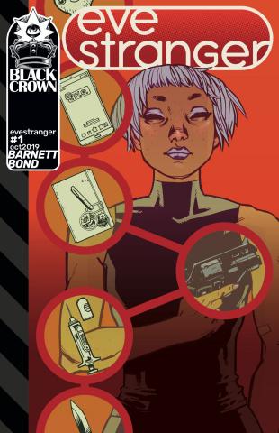 Eve Stranger #1 (Bond Cover)