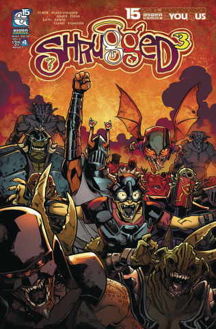 Shrugged #4 (Risso Cover)