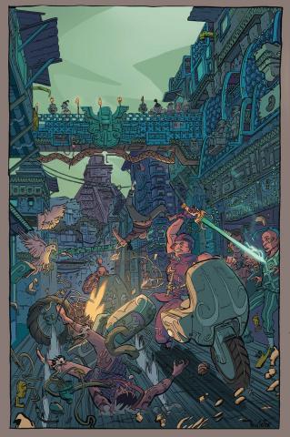 Arkworld #1 (Harris Cover)