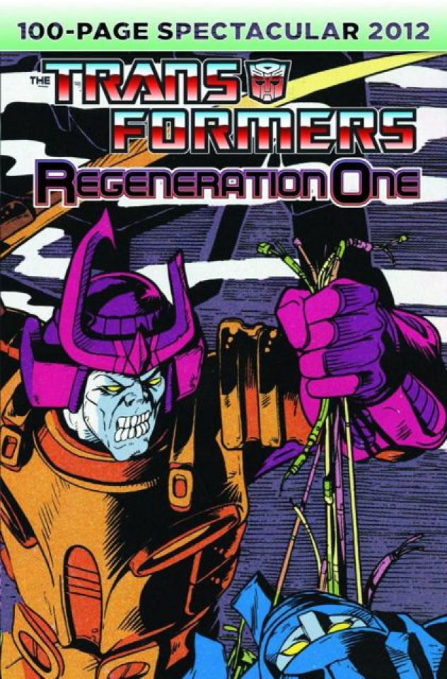 The Transformers: Regeneration One, 100 Page Spectacular