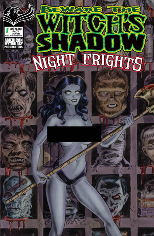 Beware the Witch's Shadow: Night Frights #1 (Racy Cover)