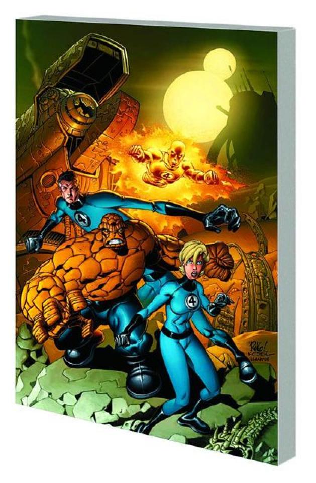 Fantastic Four by Waid & Wieringo Book 4
