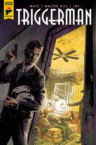 Hard Case Crime: Triggerman #3 (Chamberlain Cover)