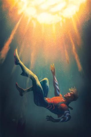 Aquaman: The Becoming #2 (David Talaski Cover)