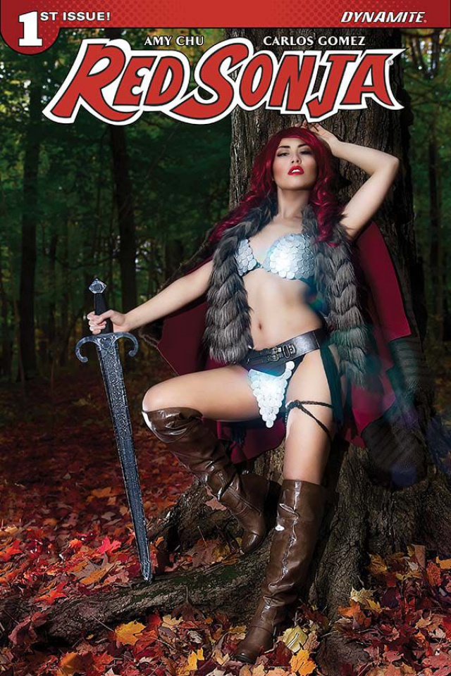 Red Sonja #1 (Cosplay Cover)