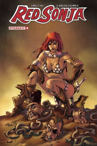 Red Sonja #6 (Rubi Subscription Cover)