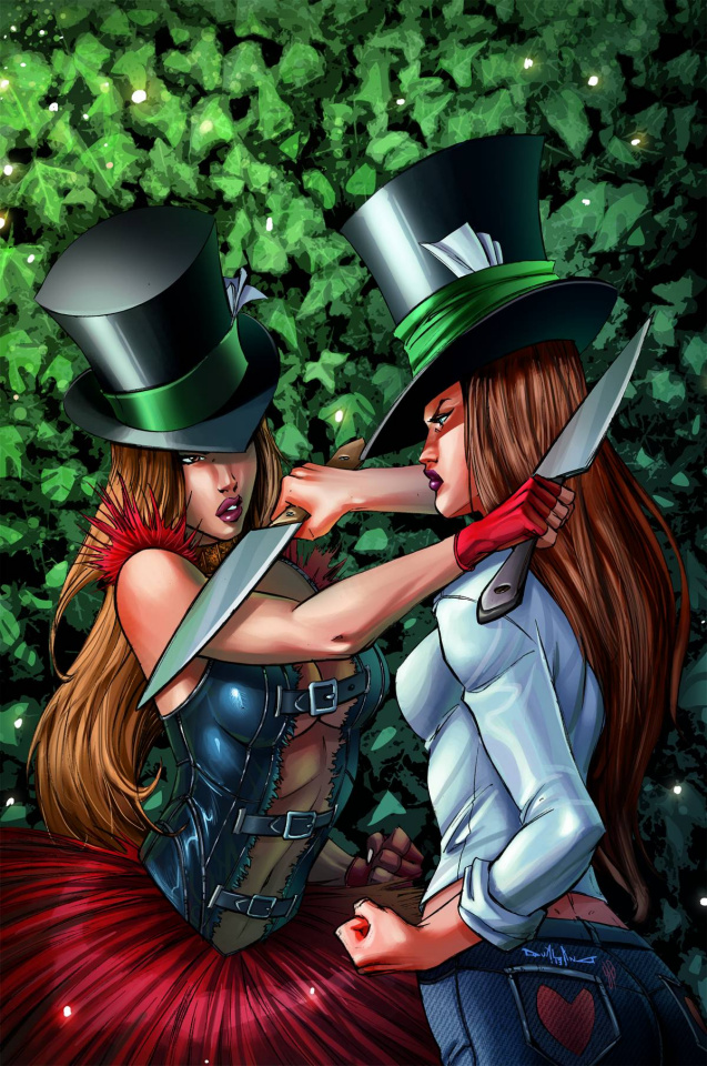 Grimm Fairy Tales: Wonderland #17 (Qualano Cover)