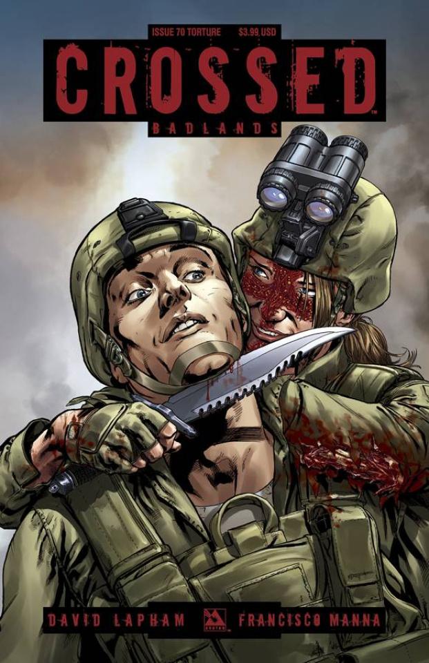 Crossed: Badlands #70 (Torture Cover)