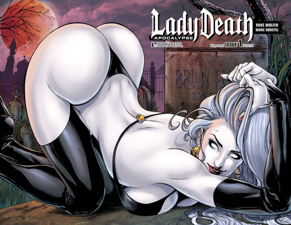 Lady Death: Apocalypse #1 (Wrap Cover)