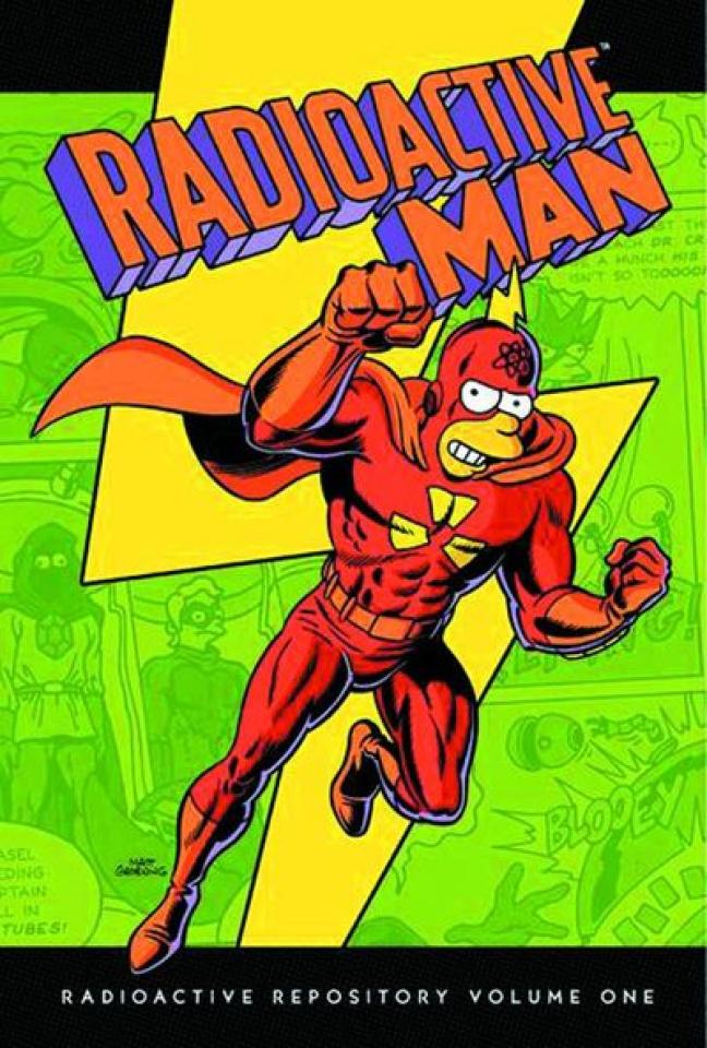 Radioactive Man Vol. 1: Radioactive Repository