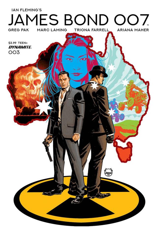 James Bond: 007 #3 (Johnson Cover)