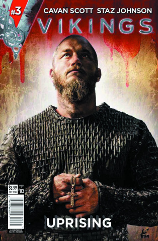 Vikings: Uprising #3 (Photo Cover)