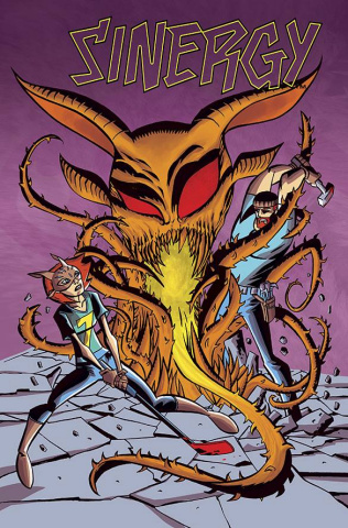 Sinergy #5 (Oeming Cover)