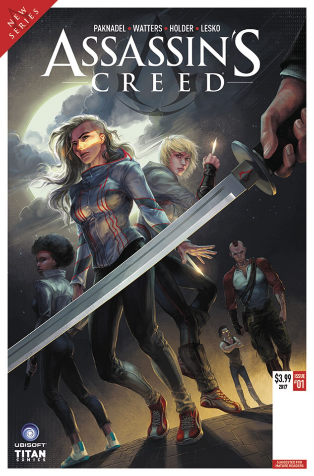 Assassin's Creed: Uprising #1 (Sunsetagain Cover)