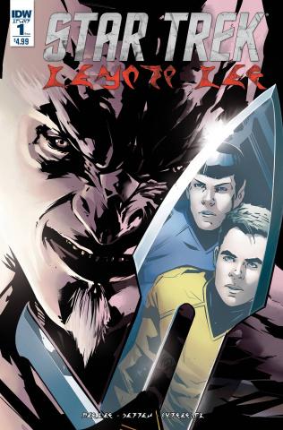 Star Trek: Manifest Destiny #1 (Klingon Edition)