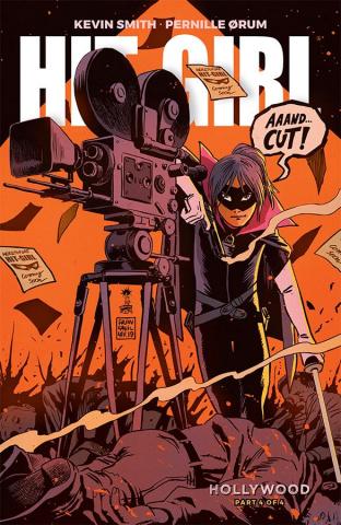 Hit-Girl, Season Two #4 (Francavilla Cover)