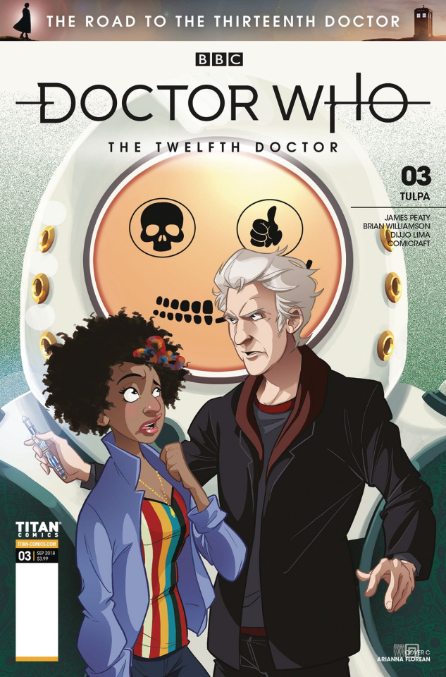 Doctor Who: The Road to the Thirteenth Doctor #3 (Florean Cover)