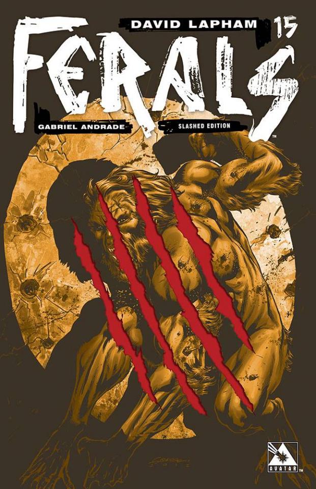 Ferals #15 (Slashed Cover)