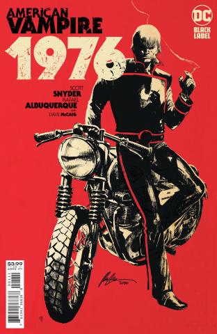 American Vampire: 1976 #1 (Rafael Albuquerque Cover)