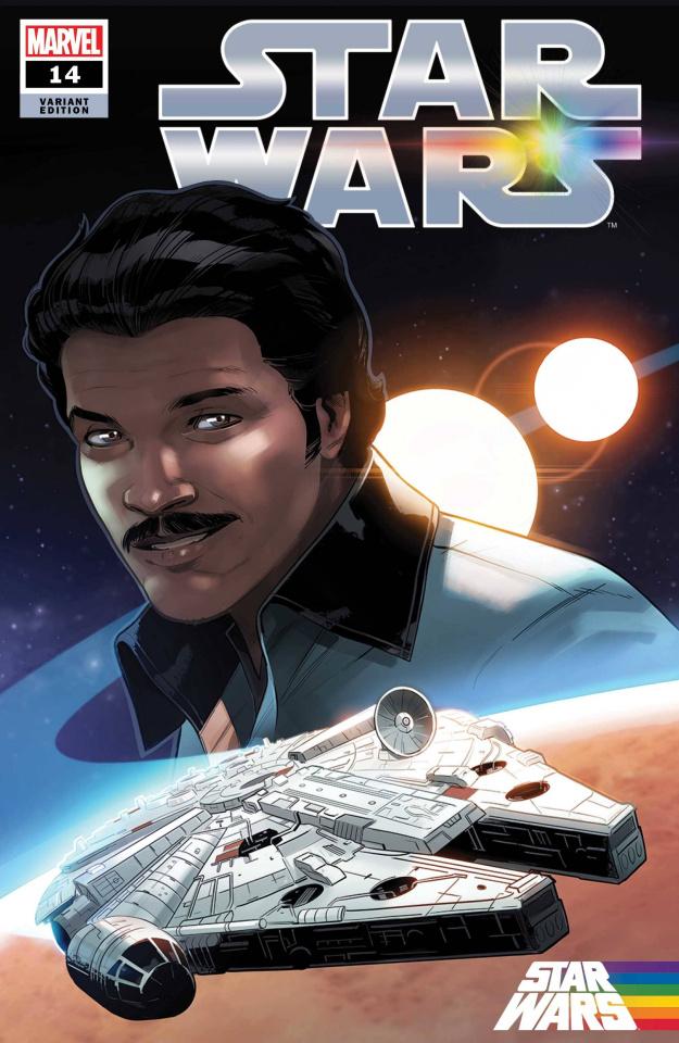 Star Wars #14 (Byrne Pride Cover)