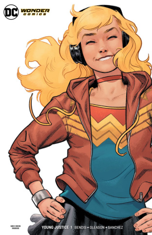 Young Justice #1 (Wonder Girl Cover)