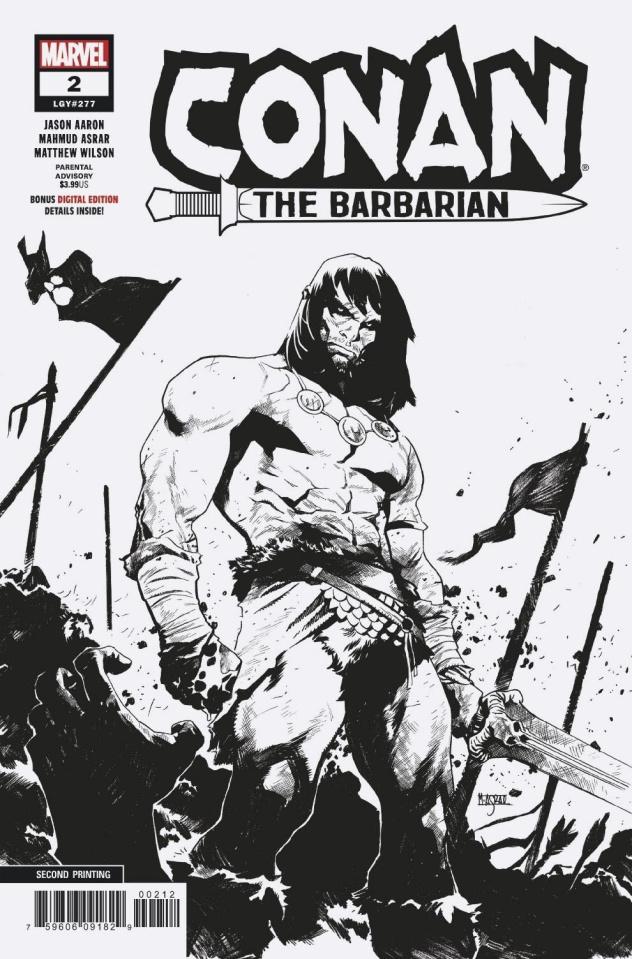 Conan the Barbarian #2 (Asrar 2nd Printing)