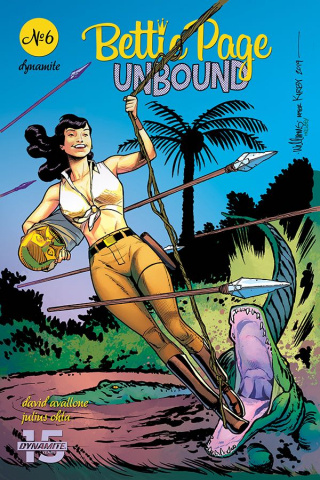 Bettie Page: Unbound #6 (Williams Cover)