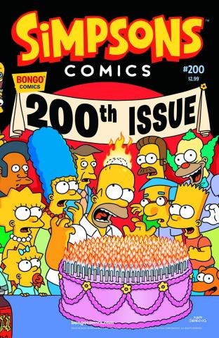 Simpsons Comics #200