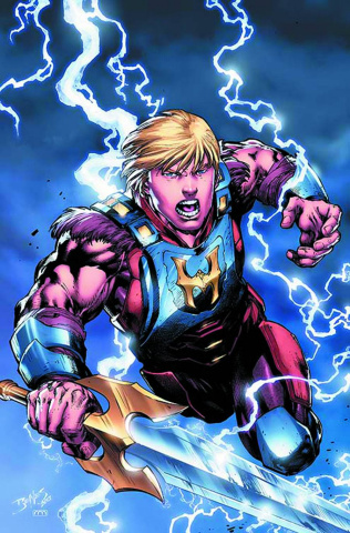 He-Man and the Masters of the Universe #4