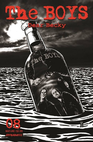The Boys: Dear Becky #8 (Robertson Line Art Premium Bonus Cover)
