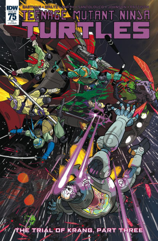 Teenage Mutant Ninja Turtles #75 (10 Copy Cover)