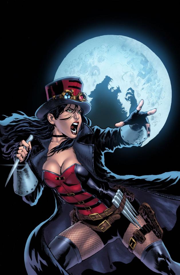 Grimm Fairy Tales: Van Helsing vs. The Werewolf #1 (Diaz Cover)