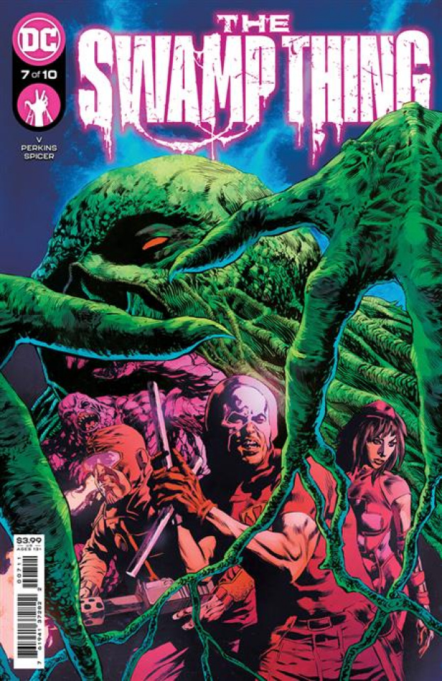 Swamp Thing #7 (Mike Perkins Cover)