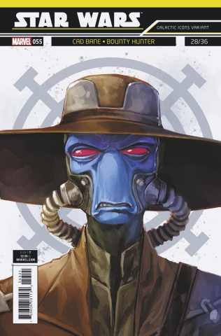Star Wars #55 (Reis Galactic Icon Cover)