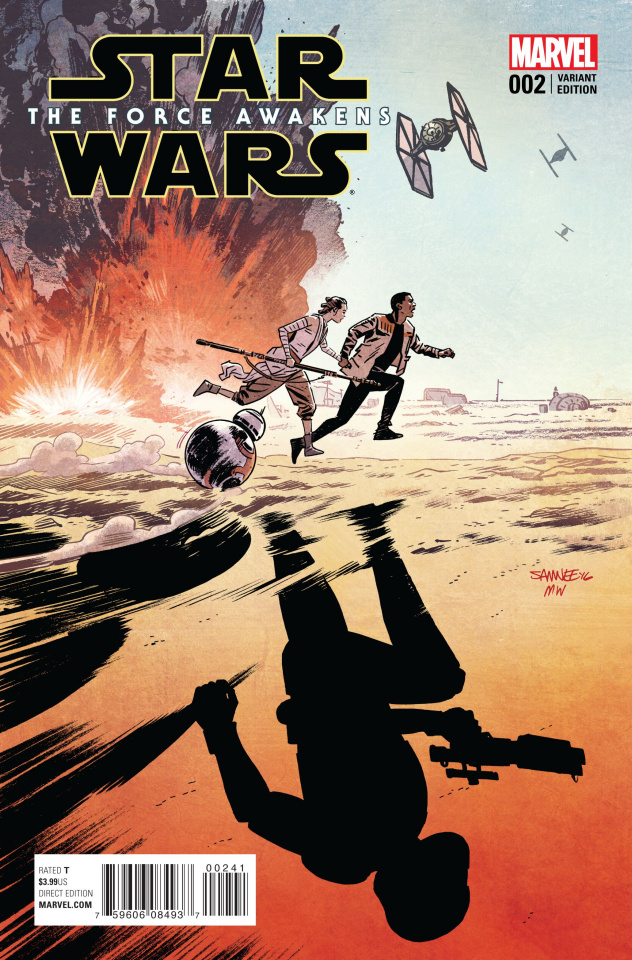 Star Wars: The Force Awakens #2 (Samnee Cover)