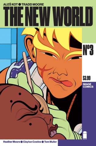 The New World #3 (Moore & Muller Cover)